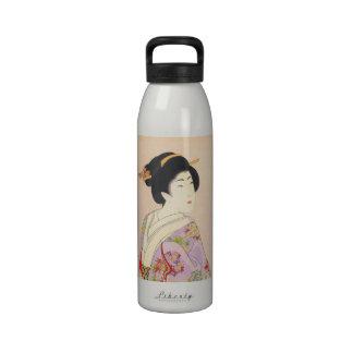 Chikanobu Yoshu True Beauties Unknown Title Water Bottle