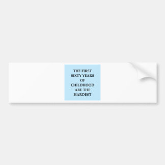 CHILD3.png Bumper Sticker