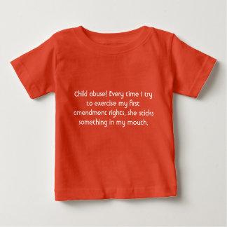 Child Abuse Baby T-Shirt
