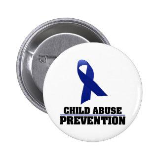 Child Abuse Prevention 6 Cm Round Badge