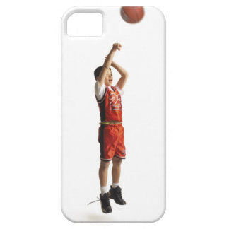 child african american male basketball player in iPhone 5 covers