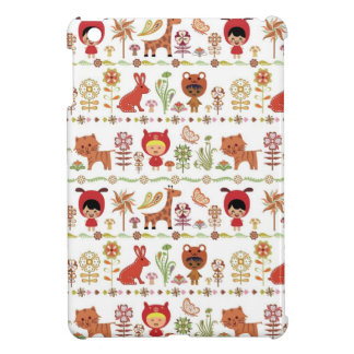 Child and Animals Pattern Case For The iPad Mini