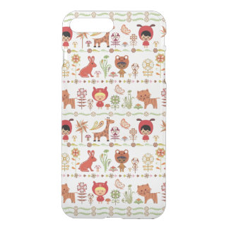 Child and Animals Pattern iPhone 8 Plus/7 Plus Case