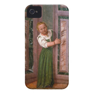 Child at the Door, from the Sala a Crociera, c.156 iPhone 4 Case
