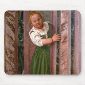 Child at the Door, from the Sala a Crociera, c.156 Mouse Pad