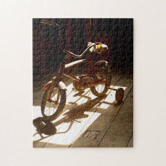 Child bicycle at the former grist mill jigsaw puzzle