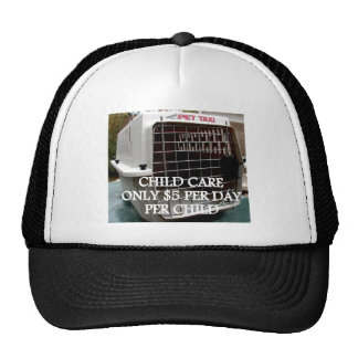 CHILD CARE 4 MESH HAT