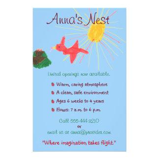 Child care flyer