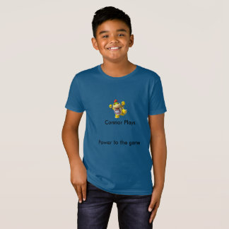 Child Connor Plays T-shirt