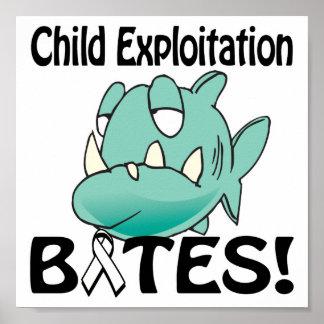 Child Exploitation BITES Print