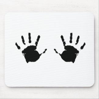 Child Handprints Mouse Pad