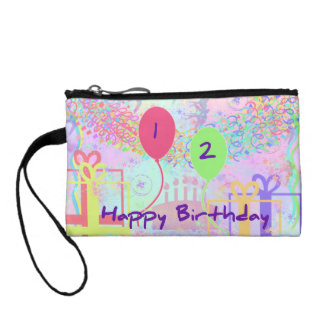 Child Happy Birthday Two Years Old Change Purses