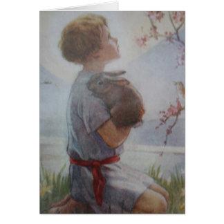 Child in Prayer Card