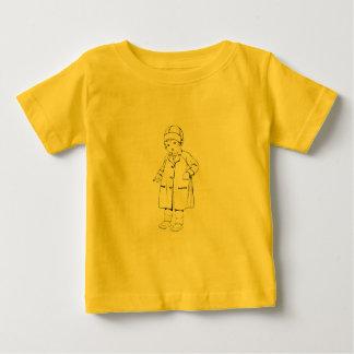 Child in Raincoat Shirt