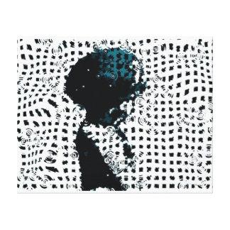 Child in the Rain Canvas Print