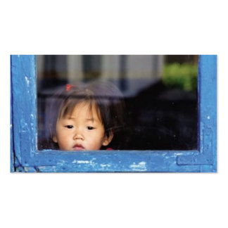 Child in the Window Pack Of Standard Business Cards