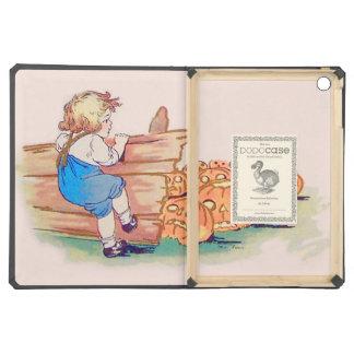 Child Jack O' Lantern Pumpkin Patch iPad Air Case