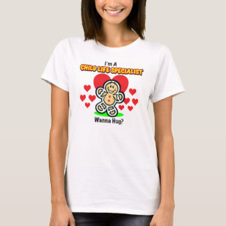 Child Life Specialist Gingerbread Shirt