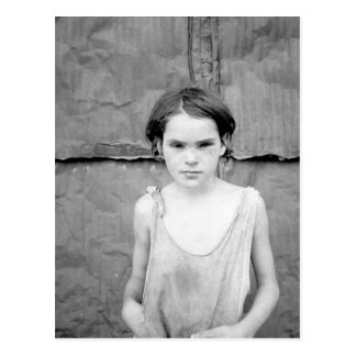 Child living in Oklahoma City sha Postcard
