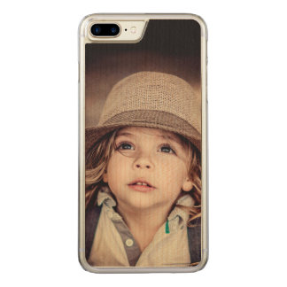Child Looking up Girl Hat Vintage Portrait Carved iPhone 8 Plus/7 Plus Case