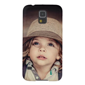 Child Looking up Girl Hat Vintage Portrait Case For Galaxy S5