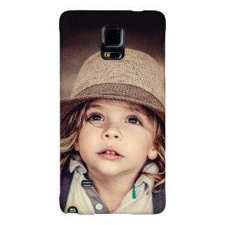 Child Looking up Girl Hat Vintage Portrait Galaxy Note 4 Case