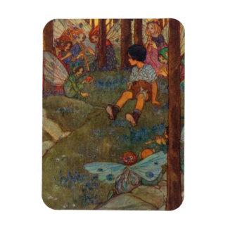 Child Meets Woodland Fairies, Magnet