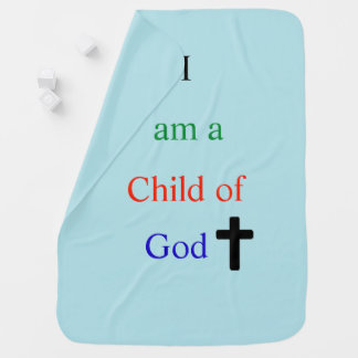 Child of God baby blanket