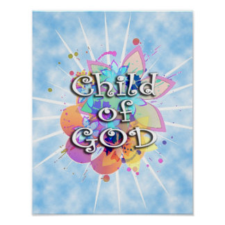Child of God, Pastel Poster