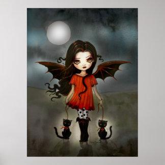 Child of Halloween Cute Vampire Poster