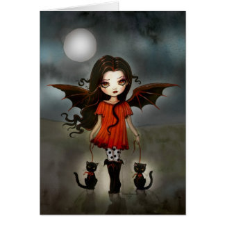 Child of Halloween Little Vampire Card