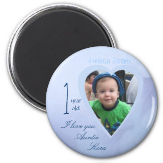 child picture i love you magnet