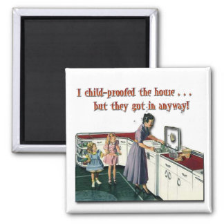 Child-proof House Magnet
