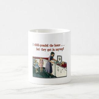 Child-proof House Coffee Mugs