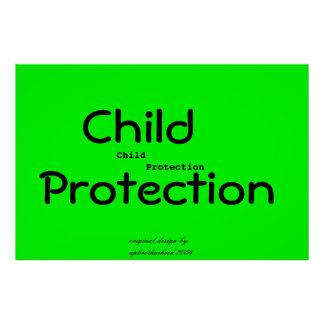 Child Protection Poster