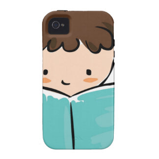 Child reading a book iPhone 4/4S covers