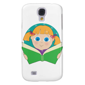 Child Reading Galaxy S4 Case