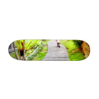 Child running on track 20.6 cm skateboard deck