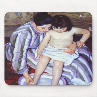 Child s Bath Mary Cassatt Mousepad