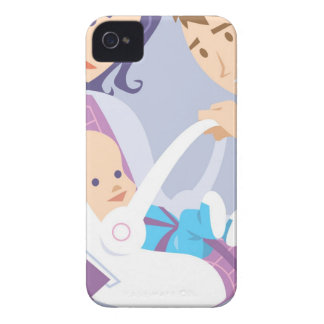 Child Safety Seat iPhone 4 Case
