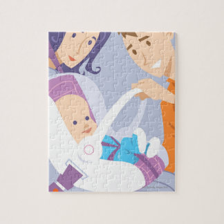 Child Safety Seat Jigsaw Puzzle