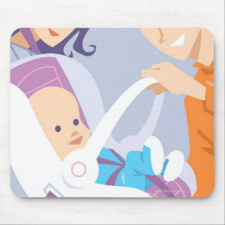 Child Safety Seat Mouse Mat