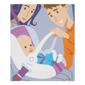 Child Safety Seat Poster