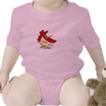 Child Shirt with Cartoon Rooster Graphic