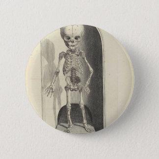 Child Skeleton 6 Cm Round Badge