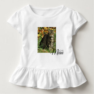 "Child T shirt ""Miau by forest elf """