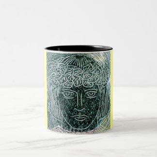 Child Warrior Two-Tone Mug