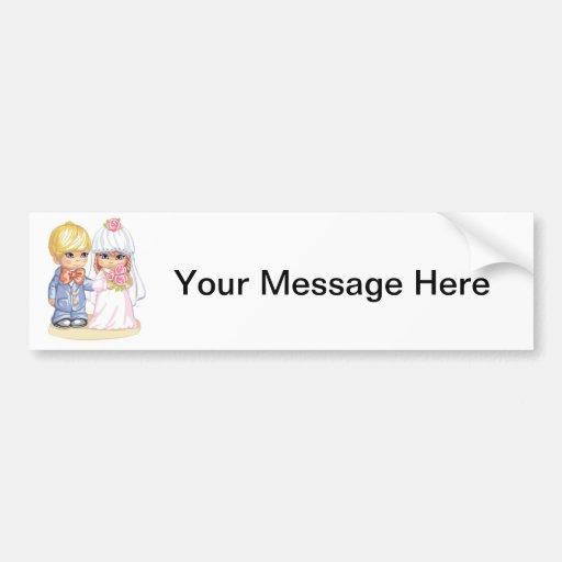 Royal Wedding Sticker Dress Up : Child wedding dress up bumper sticker zazzle