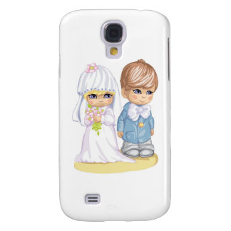 Child Wedding Dress Up Second Design Galaxy S4 Case