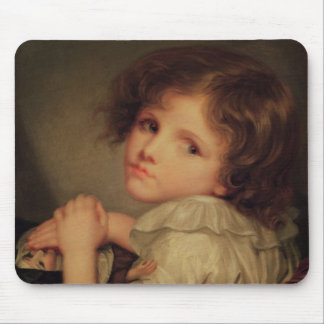 Child with a Doll Mouse Pad